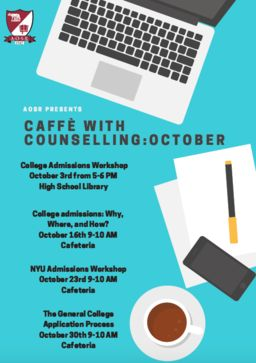 Caffè with Counseling October Sessions