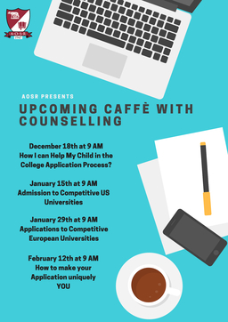 Upcoming Caffè with Counseling Sessions