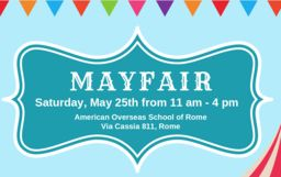 Annual Mayfair event! Mark your calendars!